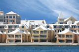 Bermudian style  condominiums poster