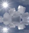 fonte des glaces...