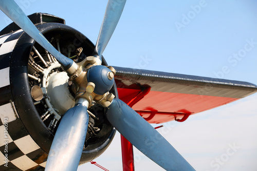 Propeller of old airplane