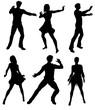 Leinwanddruck Bild - Danseurs 102