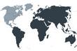 Weltkarte, world map