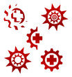 ID 3021812 Элементы для логотипа Векторный клипарт CLIPARTO.