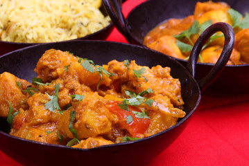 Bombay aloo, spicy Indian potato curry