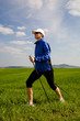 Nordic walking in summer 6