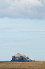Bass Rock, Firth of Forth, Scotland, with over 150,000 Gannets