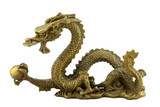Chinese imperial dragon poster