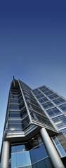 Modern tall building office exterior