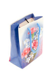 object on white - paper hand bag poster