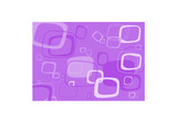 Purple rectangle vector background. poster