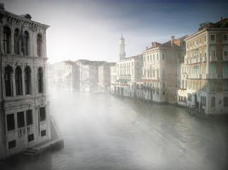 Venedig im Morgennebel