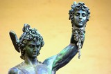 Firenze, loggia dei lanzi: Perseo e la Medusa poster