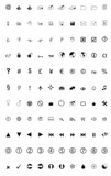 Miscellaneous Black Icons poster