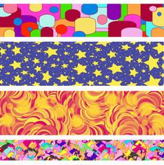 Retro Bright Themed Border Collection