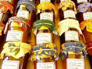 Confiture Provence et Languedoc - Jam jars France