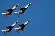 Leinwanddruck Bild - USAF Thunderbirds