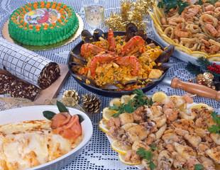 Pranzo di una festività