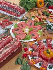 Carni miste pollo e maiale