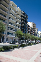 malta sliema waterfront condominiums architecture  tower road