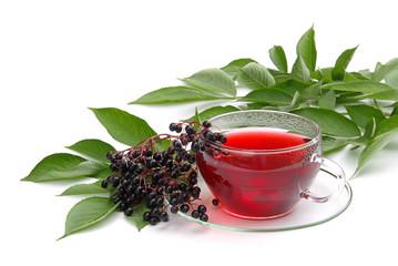 Tee Holunder - tea elder 01