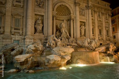 Leinwanddruck Bild Fountain de Trevi