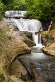 Michigan's Sable Falls in the Pictured Rocks National Lakeshore poster