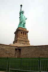 The Statue of Liberty in New York USA