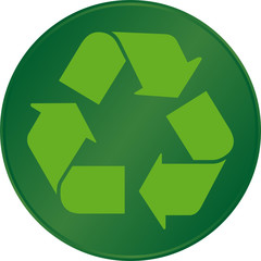 """Bouton """"Recyclage"""""""