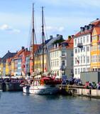 Copenhagen canal 01 poster