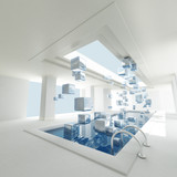 Luxurious Indoors swimming pool
