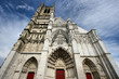 Beautiful gothic Cathedral of Saint Etienne in Auxerre, France - 9357740