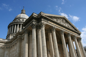 Pantheon in Latin Quarter in Paris, France