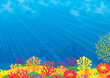 Leinwanddruck Bild - Coral reef