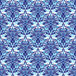 Two tone blue seamless repeating wallpaper background design
