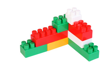 colored toy blocks different sizes