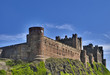 Bamburgh Castle on the Northumberland coast, North East England
