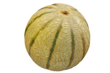 Melone ganz freigestellt