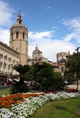 Vista de la Catedral de Valencia