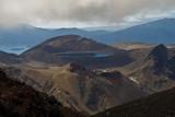 volcano landscape poster