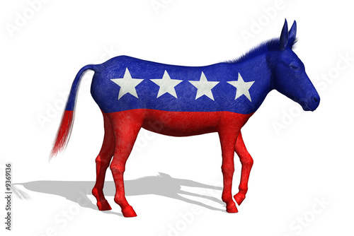 Democratic Donkey - 3D render
