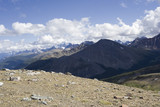 summit of mount whistler - canadian rockies poster