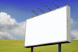 Billboard in Spring Landscape 1