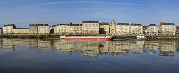 Panorama de Nantes