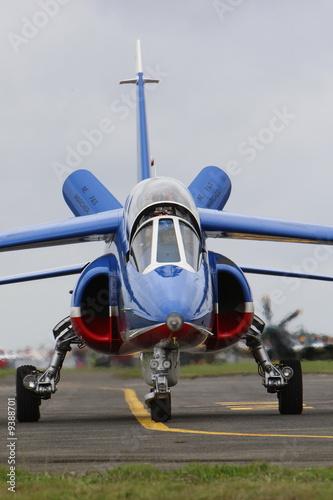 Poster alpha jet
