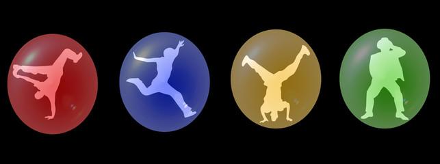 bulle de danseurs