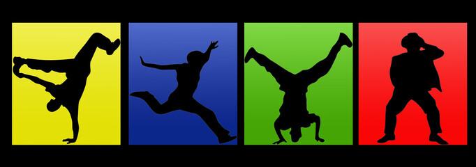 danseur en cube