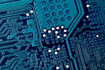 Lines on a printed circuit board