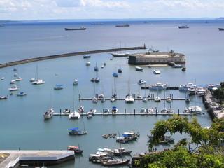 Port de plaisance de Salvador de Bahia, Brésil
