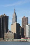 Midtown Manhattan skyline on a Clear Blue day, New York City - Fine Art prints