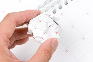 concept of time planning, Wasting Time, Unorganized