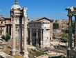rom, die ewige stadt, septimius severus bogen, via sacra